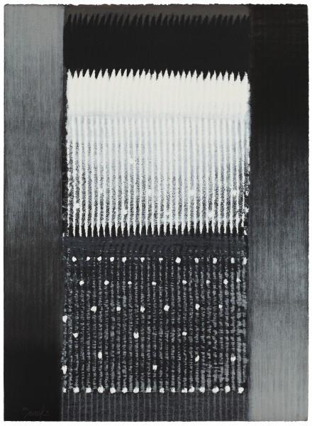 Heinz Mack, Jahreszeiten, Winter, 1996