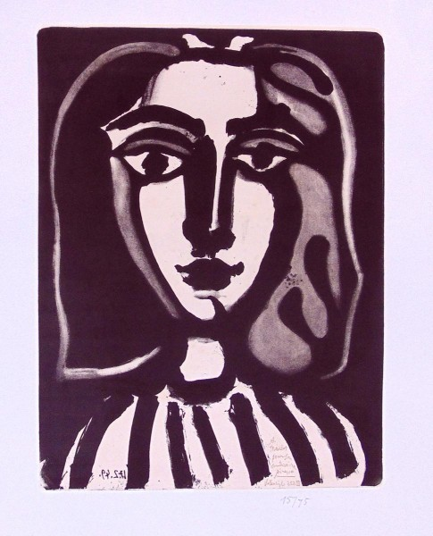 Pablo Picasso, Young Woman (Francoise) | La Jeune Femme (Françoise),  1949/1968