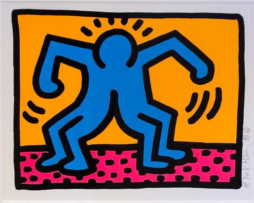 Keith Haring, Pop Shop II (A), 1988