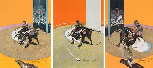 Francis Bacon, Miroir de la Tauromachie, 1990