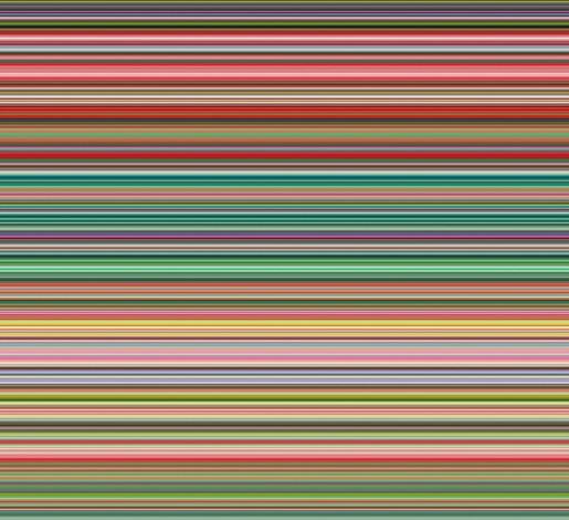 Gerhard Richter, Strips, 2015