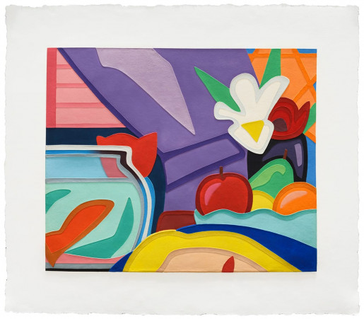 Tom Wesselmann, Still Life With Blonde and Goldfish, 2000
