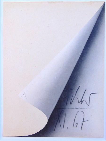 Gerhard Richter, Sheet Corner | Blattecke, 1967