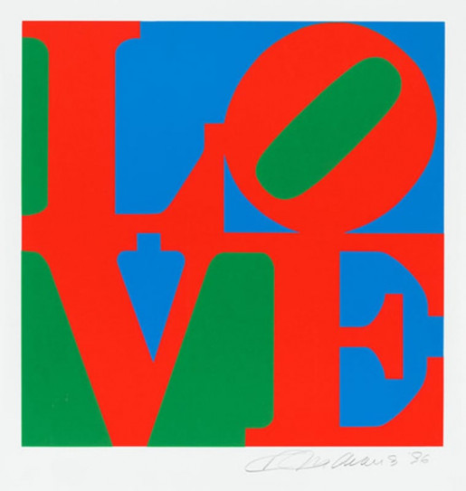 Robert Indiana, The Book of Love, 1996