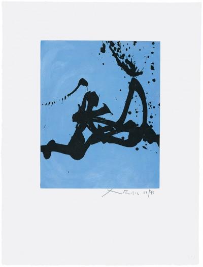 Gesture III by Robert Motherwell