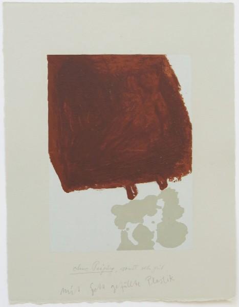 Joseph Beuys, Suite Schwurhand - Mit Fett gefüllte Skulptur, 1980