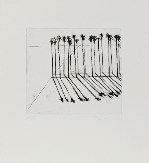 Wayne Thiebaud, Palms, 1965