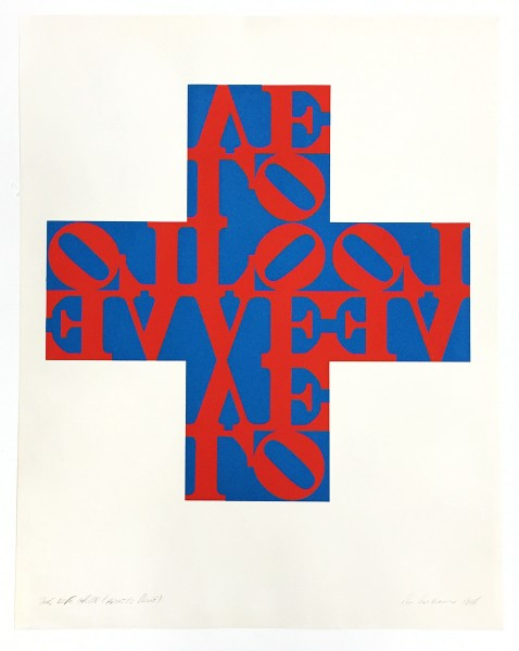 Robert Indiana, Love Cross, 1968