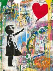 Balloon Girl (Haring)