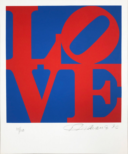 Robert Indiana, The Book of Love 2, 1996