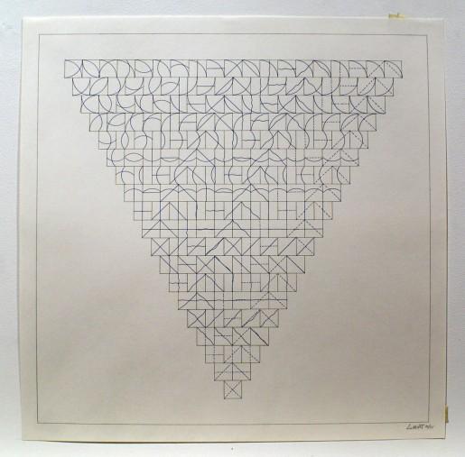 Sol LeWitt, Arcs and Lines, 1975