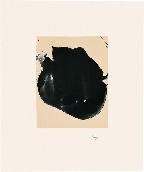 Robert Motherwell, Octavio Paz Suite: Nocturne II, 1988