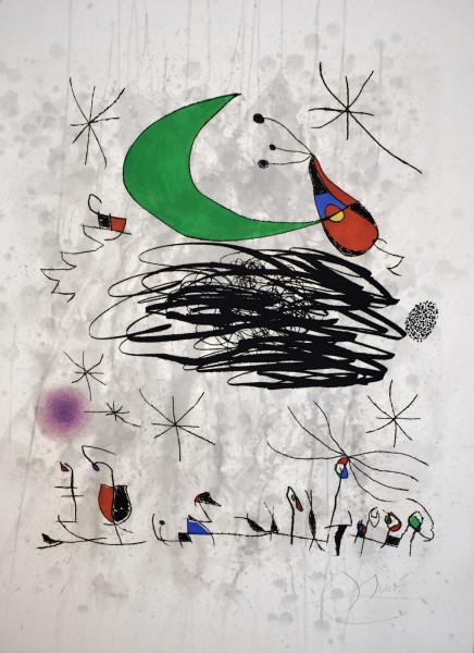 Joan Miró, Saturnalian Insects, 1975