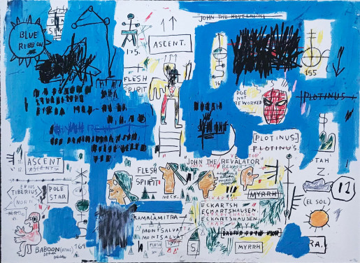 Jean-Michel Basquiat, Ascent, 1983