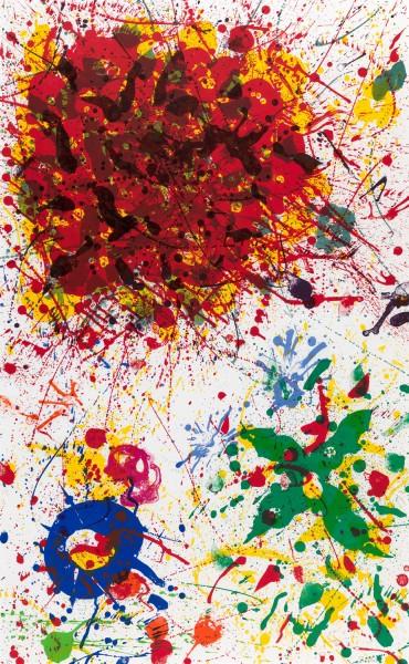 Sam Francis, Untitled, 1987