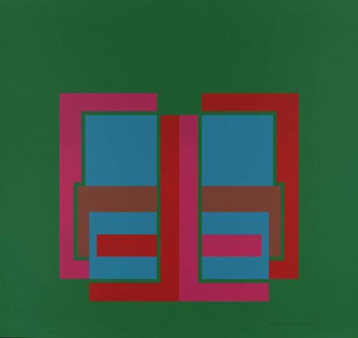 Robyn Denny, All Through the Day III, 1970