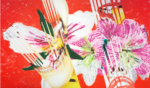 James Rosenquist, Shriek, 1986