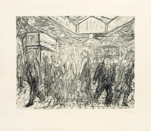 Leon Kossoff, Going Home, 1984