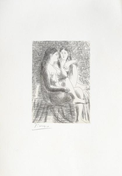 Pablo Picasso, Deux Nus Assis, 1930