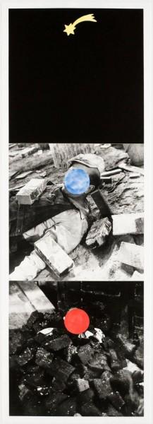 John Baldessari, Falling Star, 1989/1990