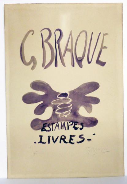Georges Braque, Estampes et Livres, 1958