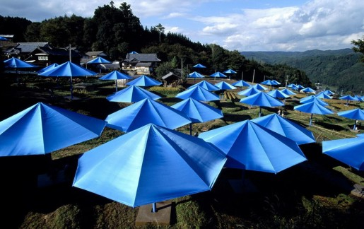 Christo & Jeanne-Claude, The Umbrellas, Japan, 1984/1991