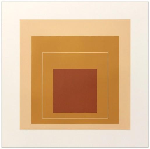 "Josef Albers, White Line Square XVI (from ""White Line Squares"" Series II), 1966"