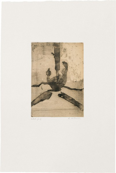 Robert Motherwell, Paroles Peintes III: Untitled, 1966