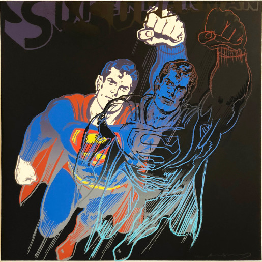 "Andy Warhol, Superman (FS II.260), from the Portfolio ""Myths"", 1981"