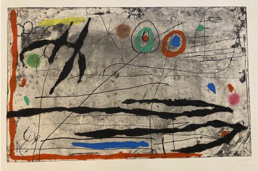 Joan Miró, Trace sur la Paroi I, 1967