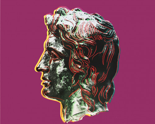Alexander the Great (FS II.291) by Andy Warhol