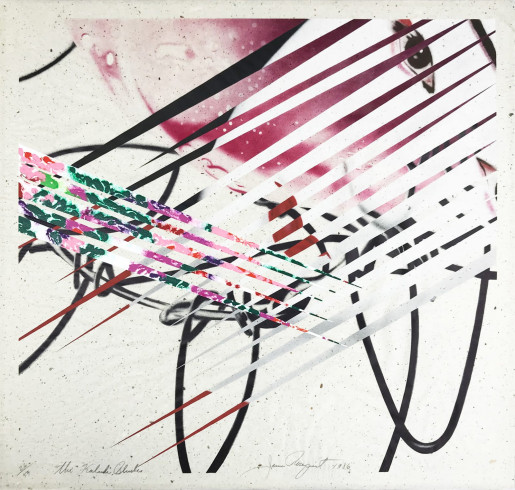 James Rosenquist, The Kabuki Blushes, 1986