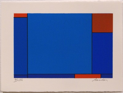 """Untitled (from """"Eighteen Small Prints"""") by Ludwig Sander"""