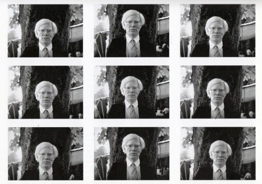 Ingeborg Lüscher, Magician Photos, Nr. 195 (Andy Warhol), 1980