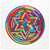 Shul Print (Six Pointed Star)