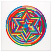 Shul Print (Six Pointed Star)
