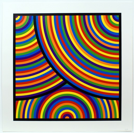 Sol LeWitt, Bands of Equal Width in Colour 1, 2000
