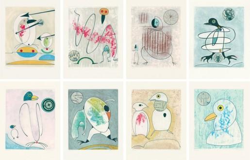 Max Ernst, Oiseaux en péril, 1975