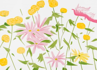 Spring Flowers by Alex Katz