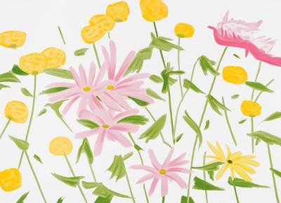 Alex Katz, Spring Flowers, 2017