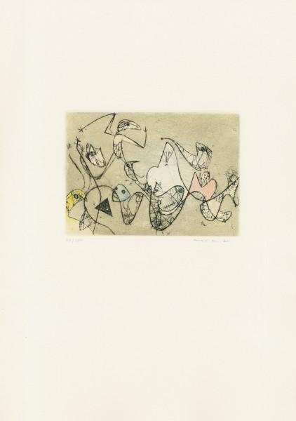 Max Ernst, Untitled, 1950/1973