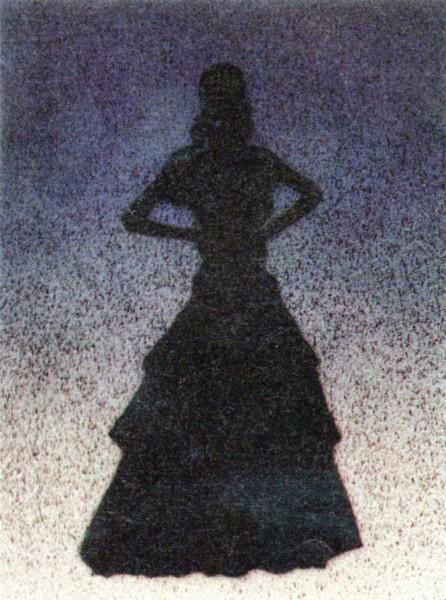 Ed Ruscha, Bailarina, 1988