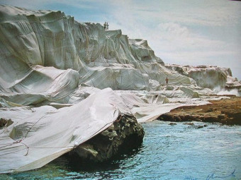 Wrapped Coast: Little Bay, Australia by Christo