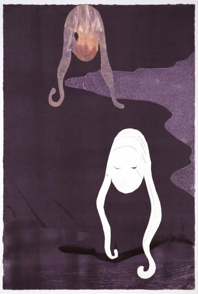 Leiko Ikemura, Ensayos de la sombra, 2015