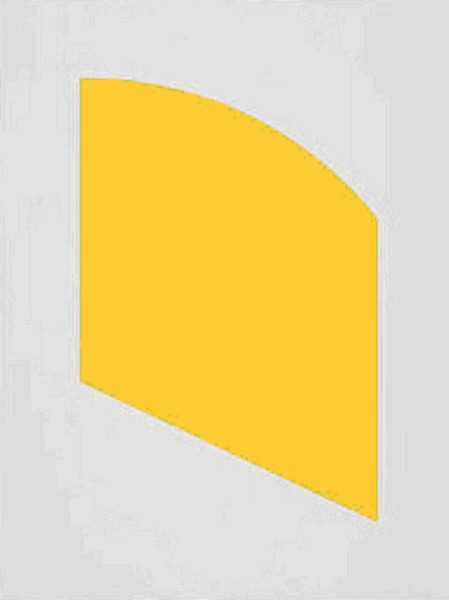 Ellsworth Kelly, Yellow, 2004