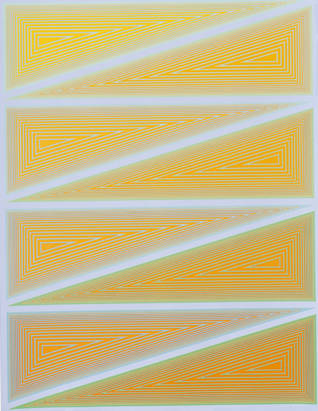 Richard Anuszkiewicz, Inward Eye, 1970
