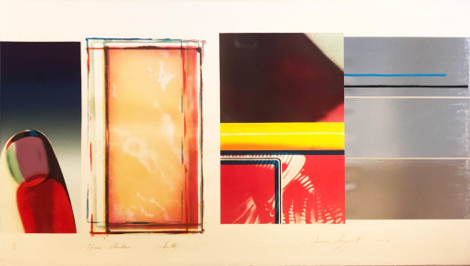 James Rosenquist, Horse Blinders (South), 1972