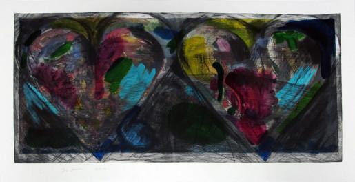 Jim Dine, Blue Points, 2014