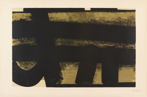 Pierre Soulages, Lithographie 35, 1974