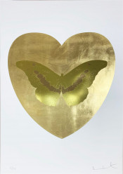 I Love You - Gold Leaf/Oriental Gold/Cool Gold